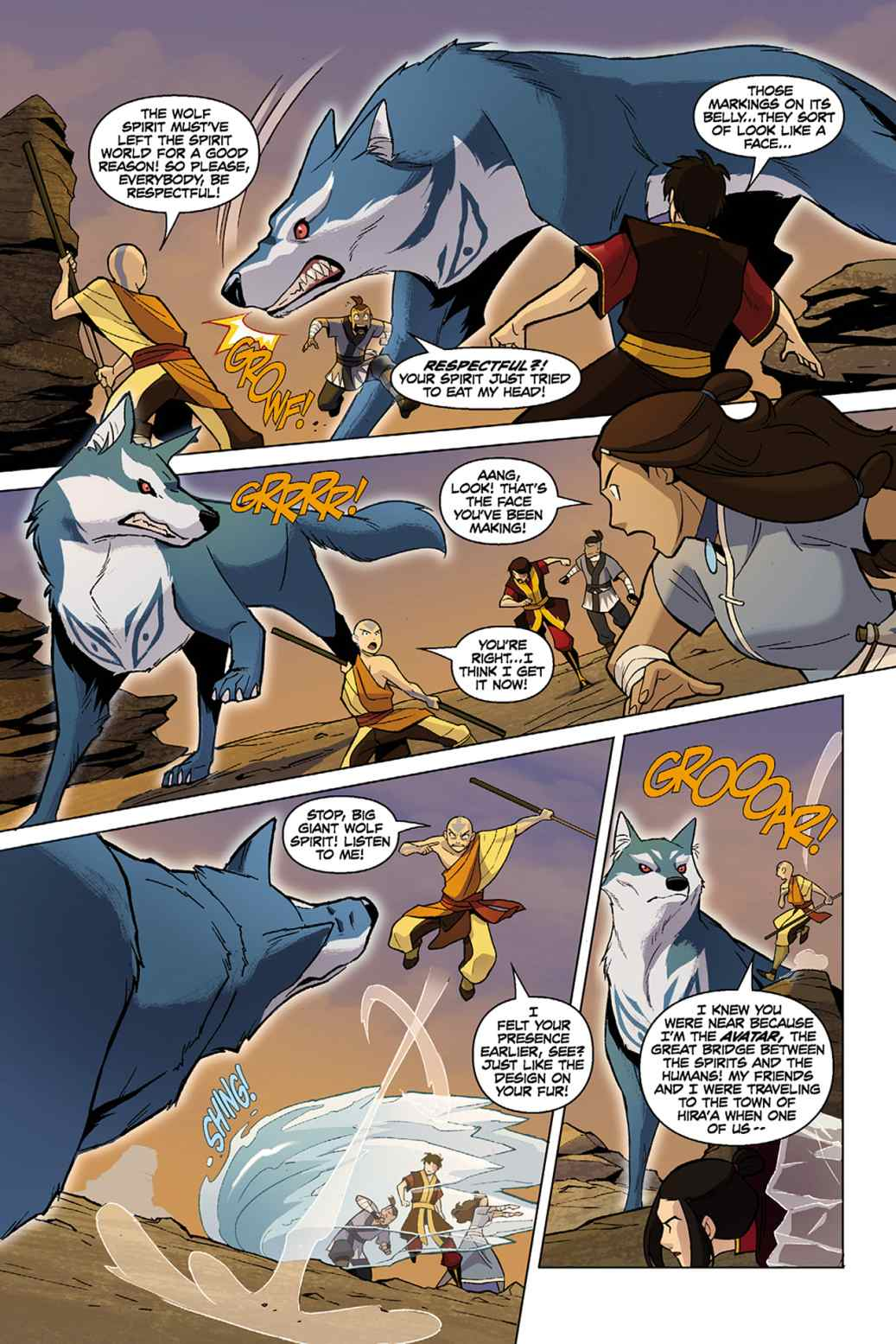 Read Comics Online Free - Avatar The Last Airbender