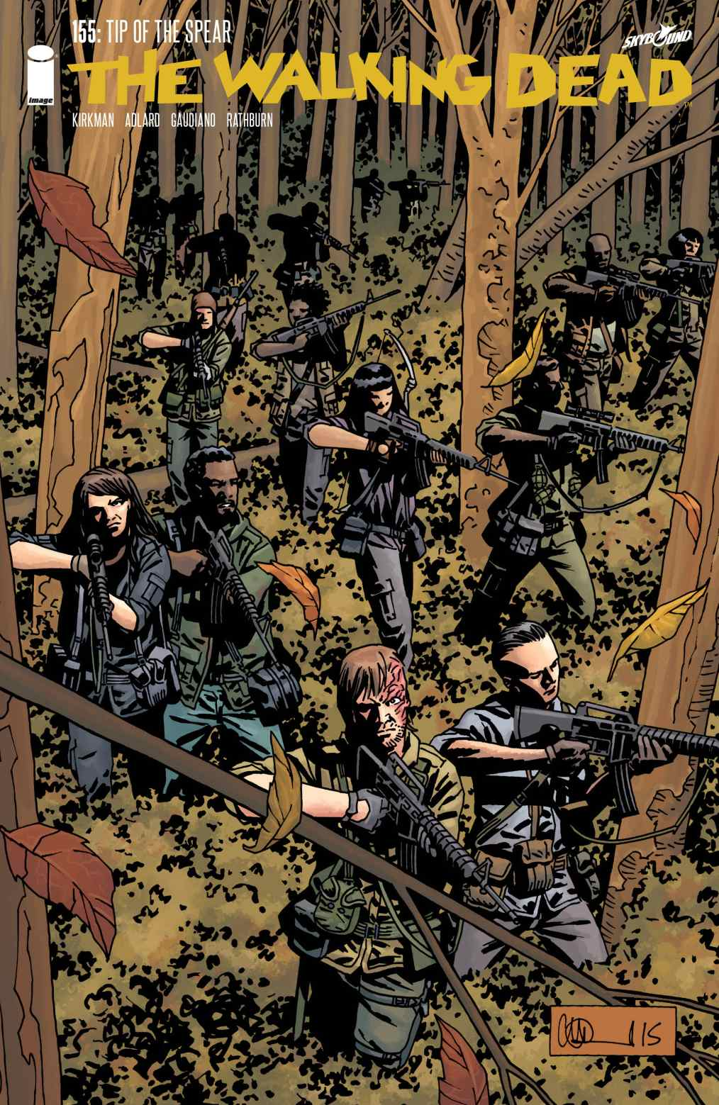 Read Comics Online Free - The Walking Dead - Chapter 155 ...