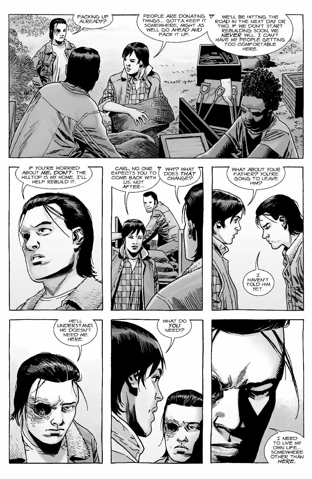 Read Comics Online Free - The Walking Dead - Chapter 169